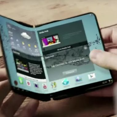 Samsung, Teléfono, Plegable, Fold