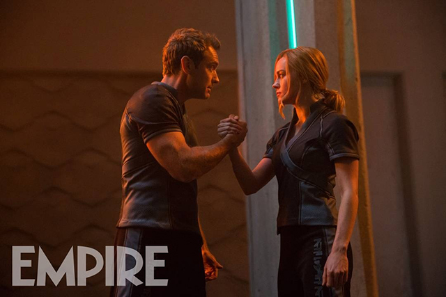 Captain Marvel-Jude Law-Bire Larson-Marvel