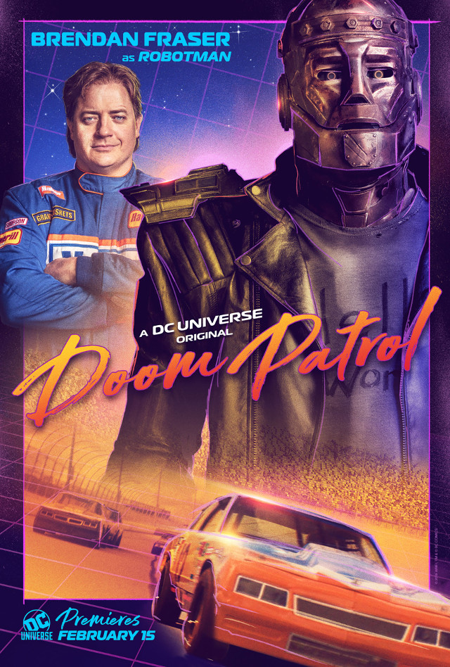 Robotman (Brendan Fraser)