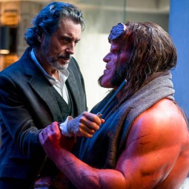 El nuevo Hellboy del cine en foto