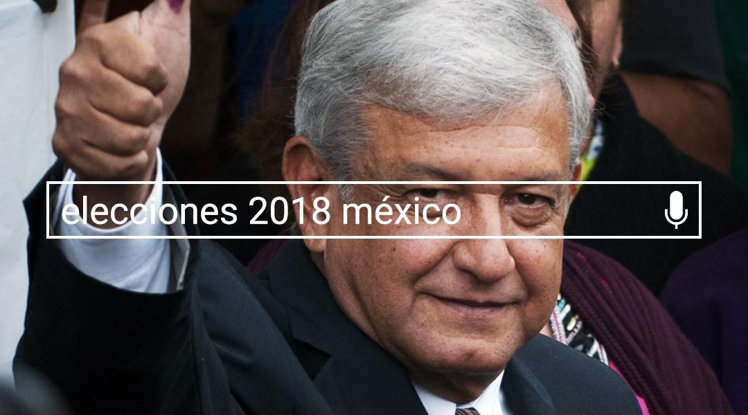 Mas buscado google mexico 2018