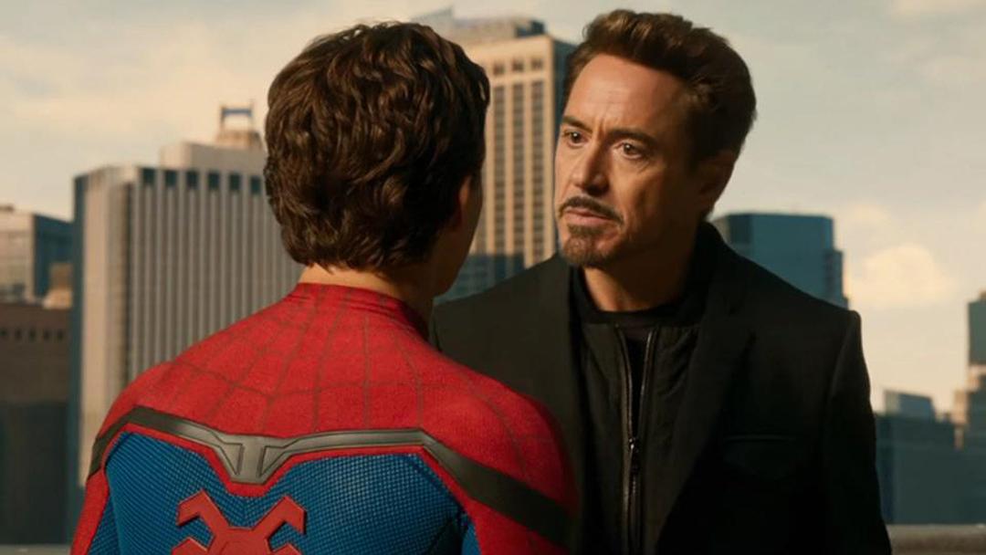 Peter Parker-Tony Stark-Spider Man-Iron Man
