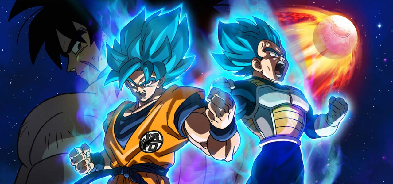 Póster oficial de Dragon Ball Super Broly