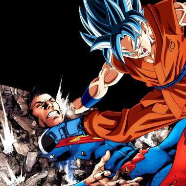 Imagen de Goku Vs Superman