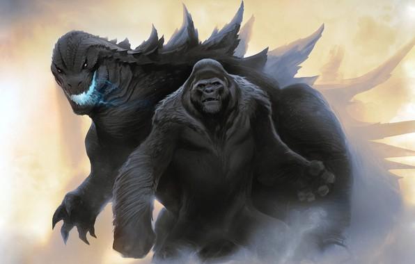King Kong, Godzilla, Película, Grabaciones Código Espaguetti
