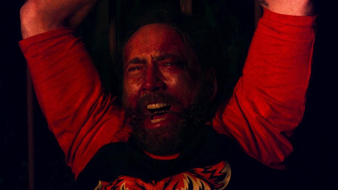 Imagen: Nicolas Cage en Mandy