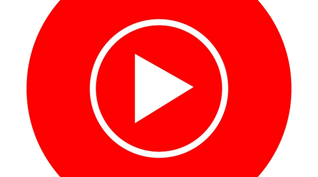 Logo de youTube Music, la app de musca