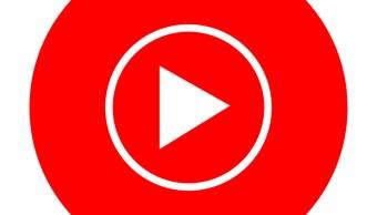 Logo de youTube Music, la app de musca