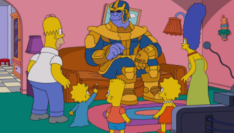 Thanos en los Simpson