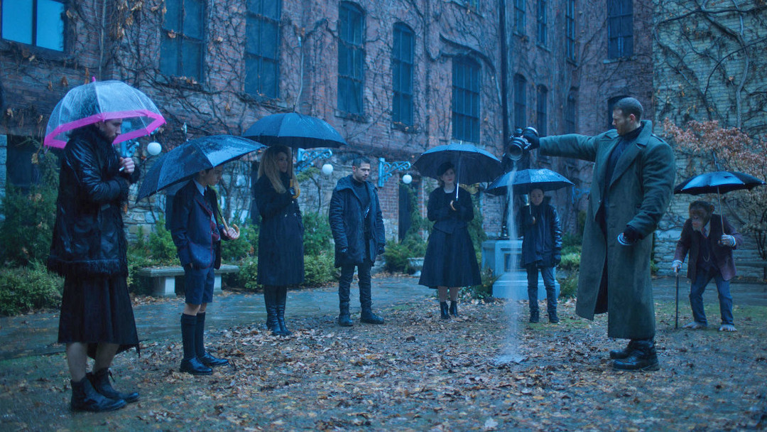 Imagen de The Umbrella Academy de Netflix