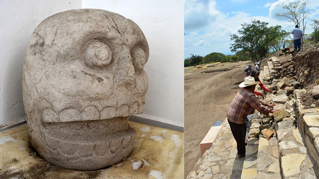 Descubren primer templo dedicado al dios Xipe Tótec