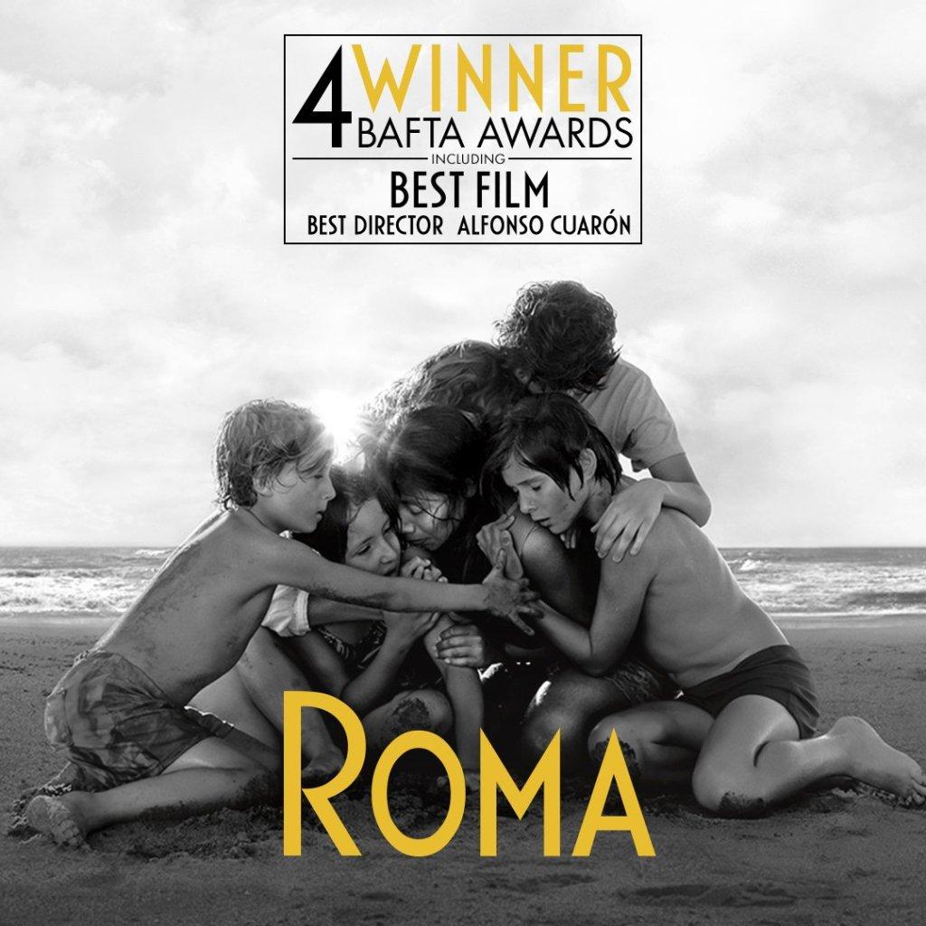 BAFTA, Roma, Alfonso Cuarón, Premios