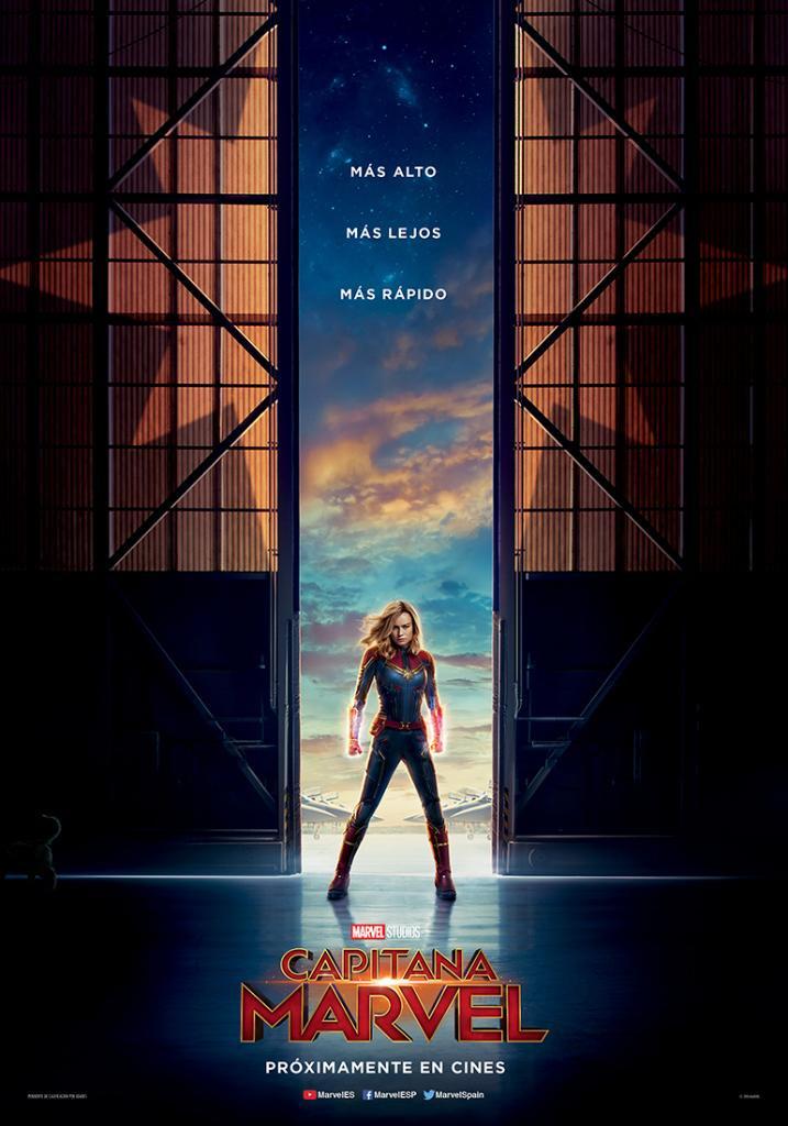 Captain Marvel, Mujer Tenías Que Ser, España, Publicidad