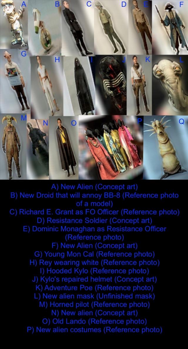 Fotos de referencia de Star Wars: Episodio IX