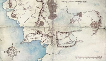 Lord Of The Rings, Amazon Prime, Mapa, Serie