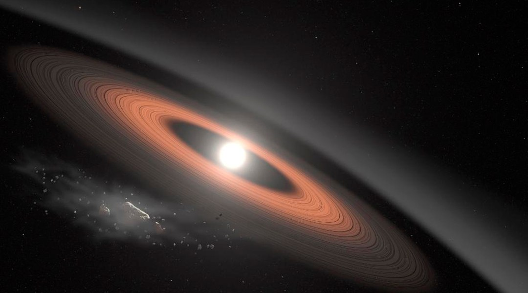 NASA, Enana Blanca, Anillos, Temperatura