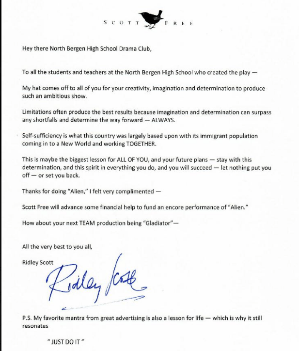 Carta-Ridley Scott