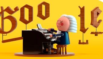 Johan Sebastian Bach, Google, Doodle, Inteligencia Artificial