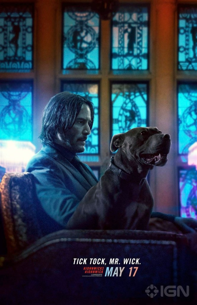 John Wick, Chapter 3, Parabellum, Pósters