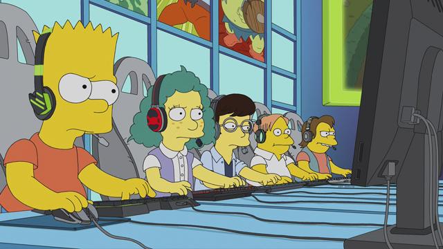 Bart Simpson se volverá un gamer profesional en la temporada 30