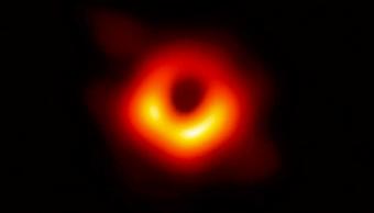 El agujero negro visto desde la Tierra