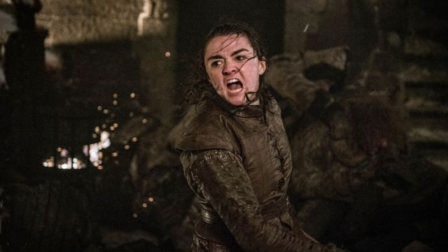 Arya Stark, Game of Thrones, Hashtag, Twitter
