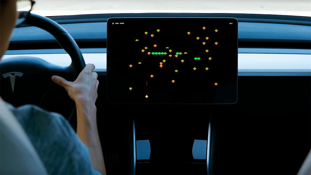 Juegos de Atari llegarán a los Tesla