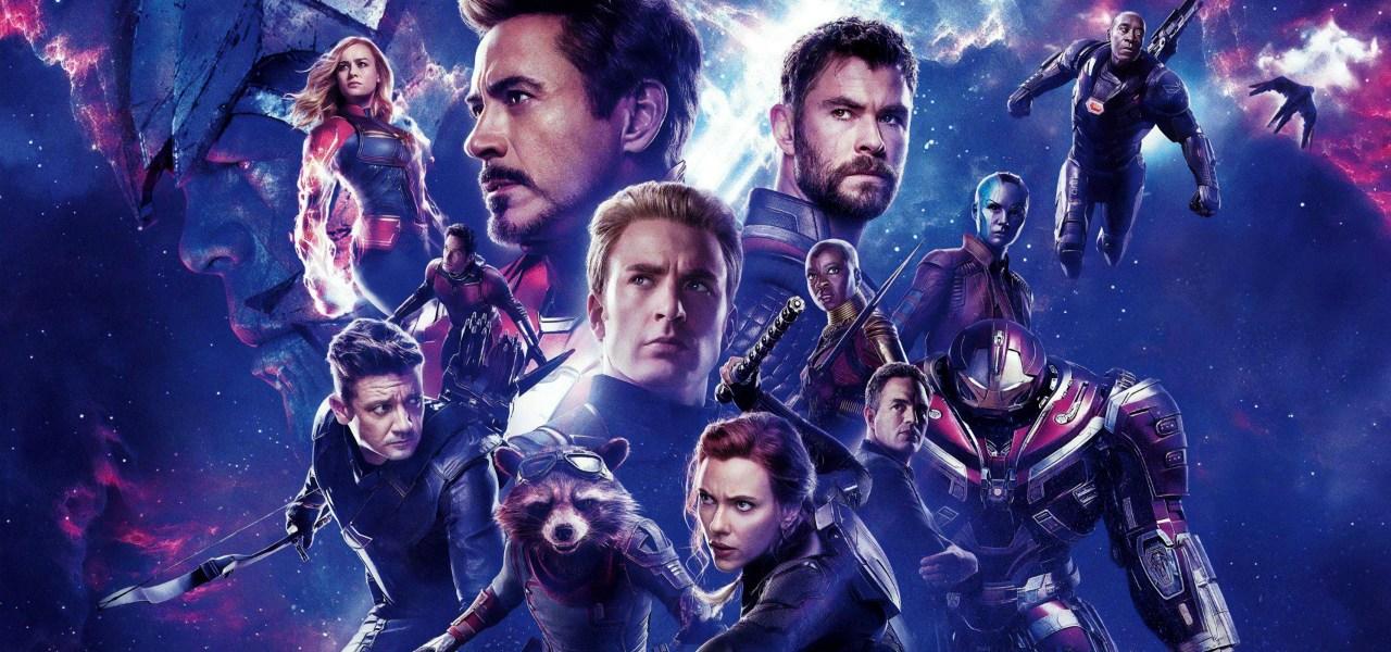 Poster oficial de pelicula Avengers Endgame