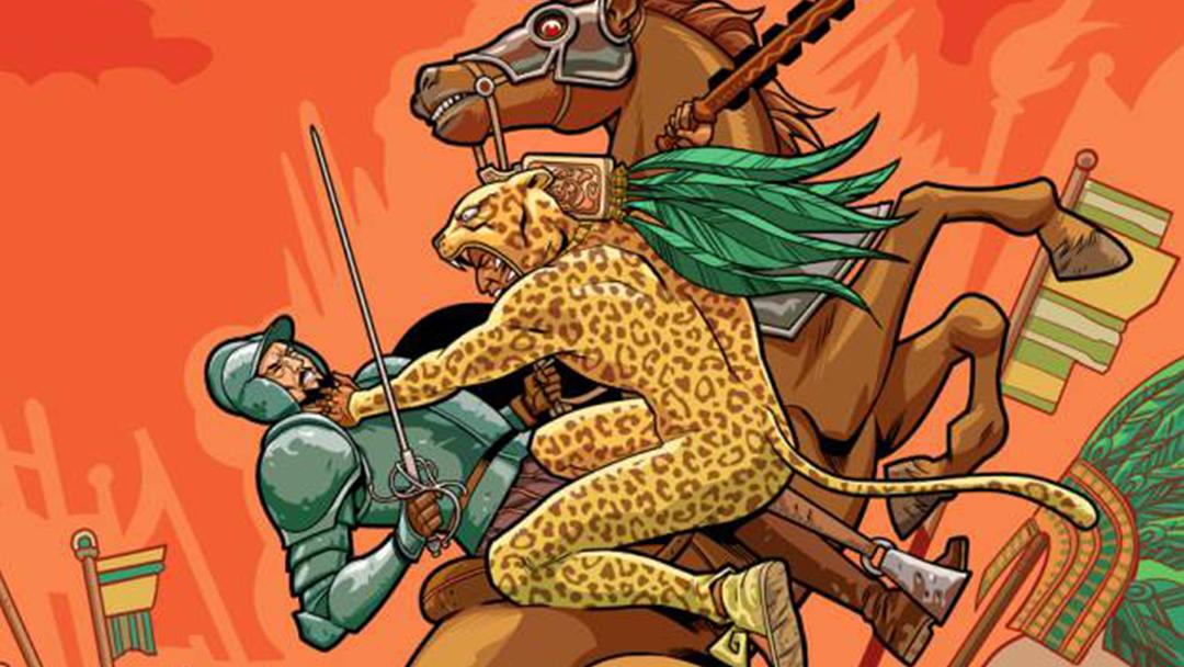 Aztec Empire, Cómic, Conquista, Aztecas