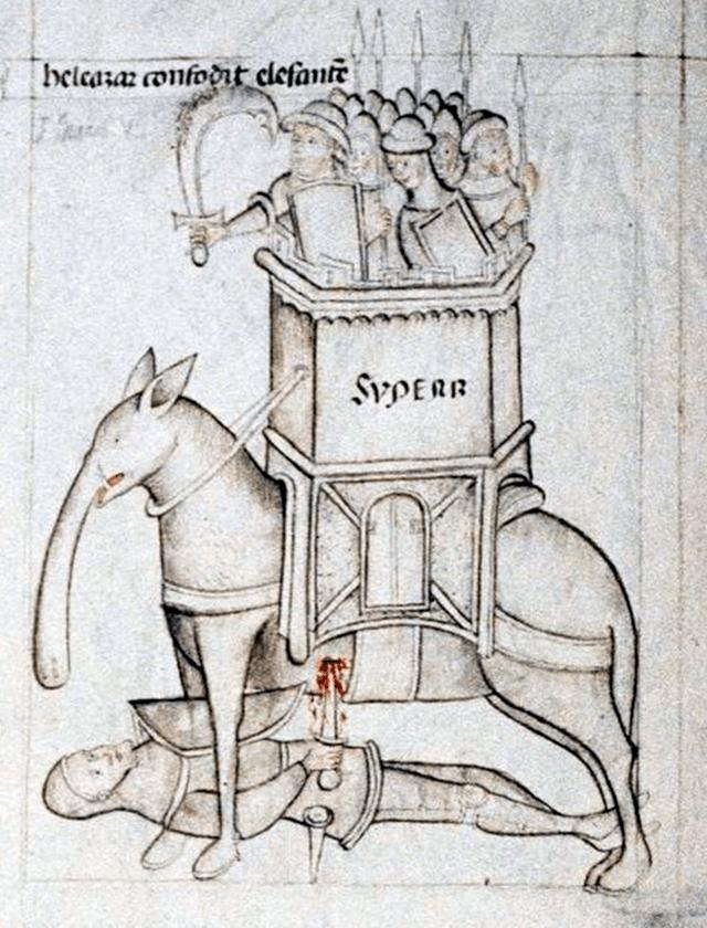 elefante medieval