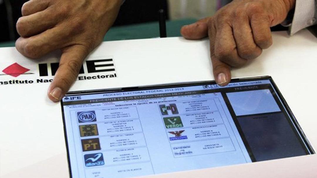 INE, Urna, Electrónica, Voto