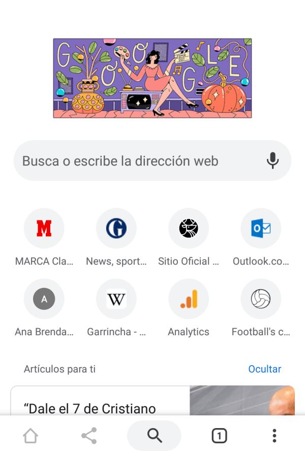 Así activas el modo oscuro de Chrome en Android