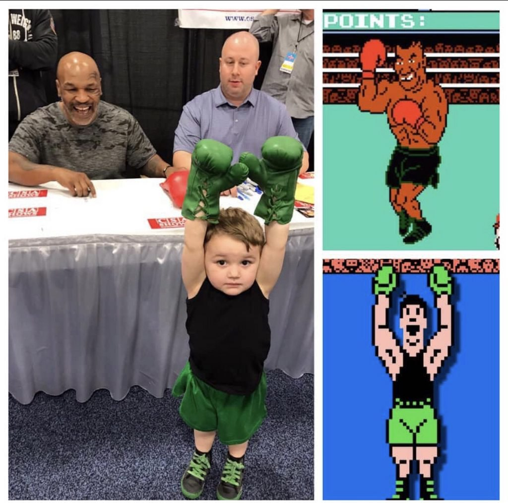 Myke Tyson, Punch Out, Nintendo, Juego