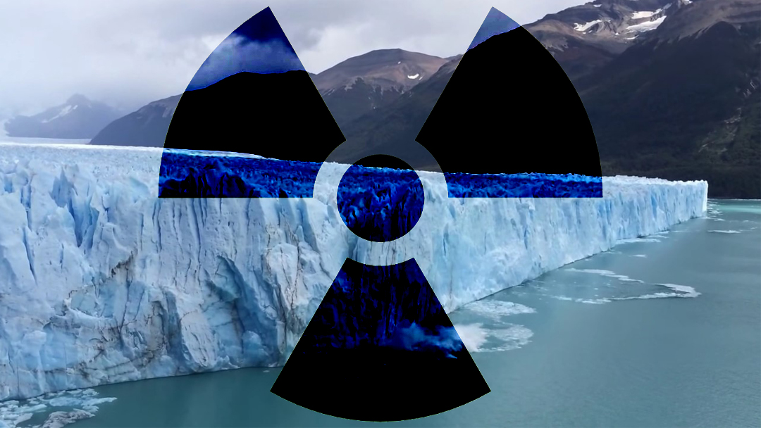 Planta Nuclear, Radioactividad, Glaciar, Canadá