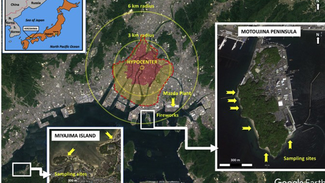 Bomba Atómica, Hiroshima, Nagasaki, Mineral