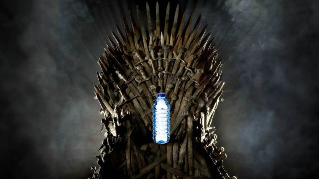 Botella-Agua-Capitulo Final-Game of Thrones