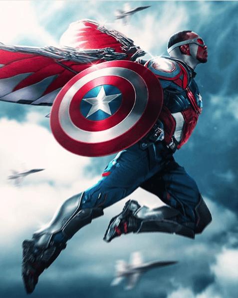 Falcon, Captain America, Avengers, Endgame