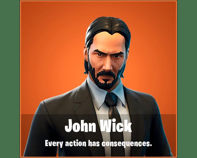 John Wick Fortnite