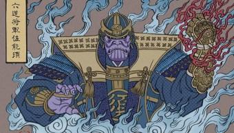 Ukiyoe-Thanos-Avengers