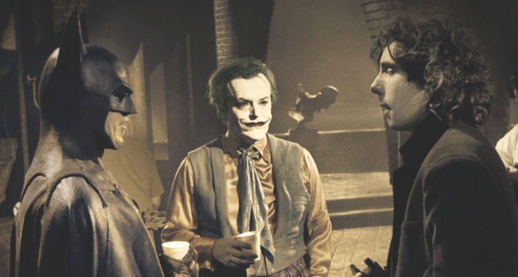 Batman Jack Nicholson Michael Keaton Tim Burton