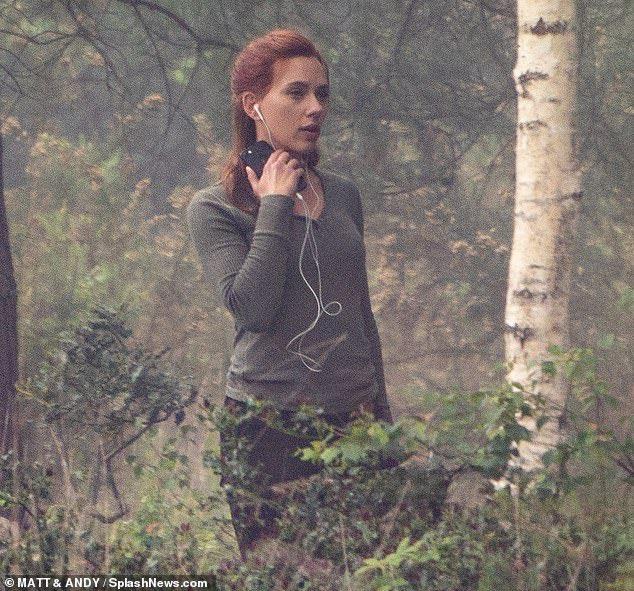 Black Widow, Scarlett Johansson, Película, Fotos