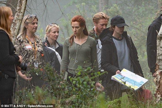 lack Widow, Scarlett Johansson, Película, Fotos