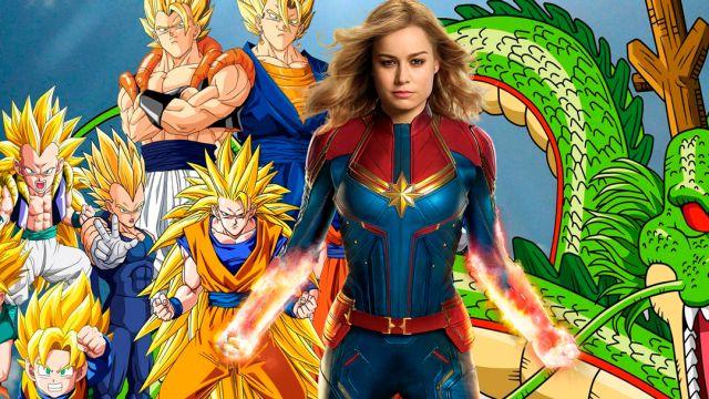 Dragon Ball, Captain Marvel, MCU, Goku