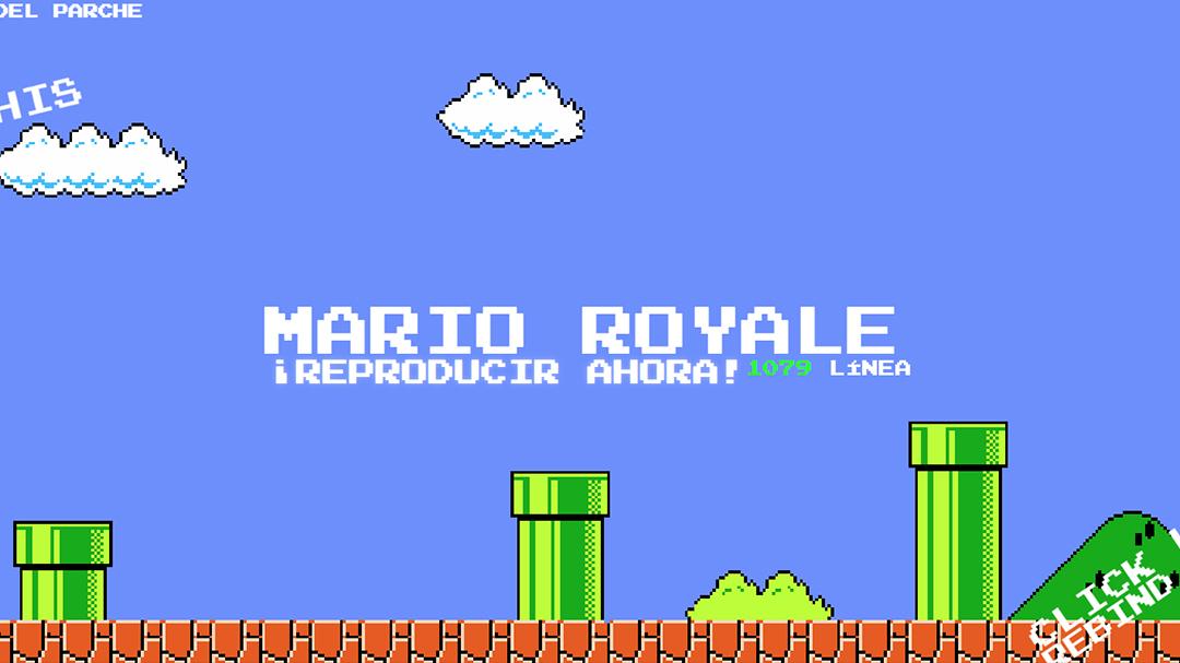 Mario Royale-Battle-Royal-Super Mario Bros