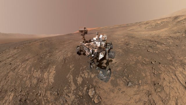 Marte, Nubes, Curiosity, NASA