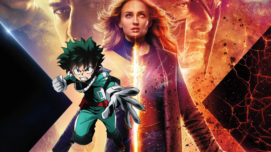 My Hero Academia, Jean Grey, Dark Phoenix, Dibujo