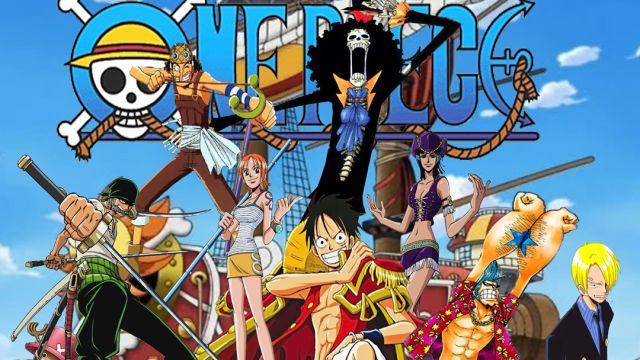 One Piece, One Punch Man, Eyeshield 21, Luffy