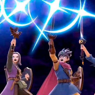 Super Smash Bros Ultimate, Dragon Quest, Personajes, Nintendo