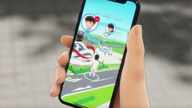 El nuevo juego de los super Campeones para móviles
