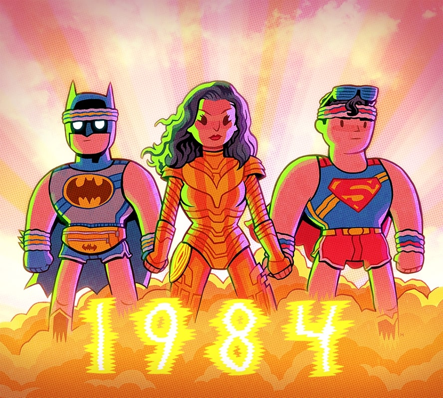 Wonder Woman, Teen Titans, Batman, Superman
